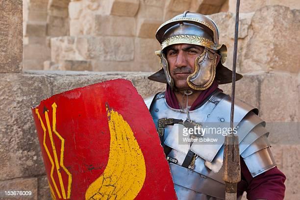 Jordan, Jerash, Roman Centurion