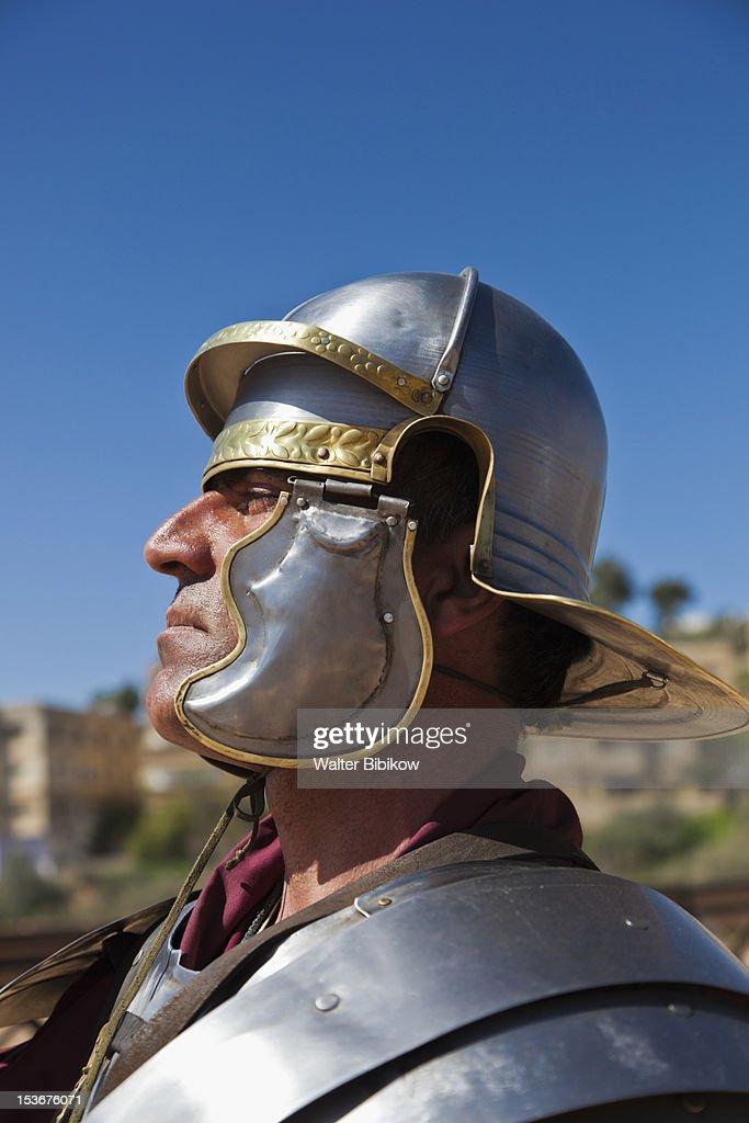 Jordan, Jerash, Roman-era military show : Stock Photo