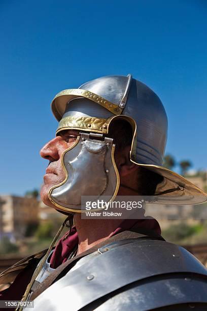 Jordan, Jerash, Roman-era military show