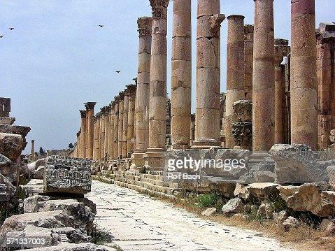 Jordan - Jerash, the Cardo Maximus
