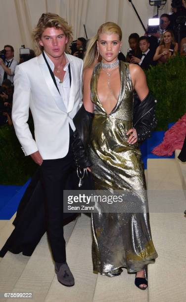 Jordan Kale Barrett and Sofia Richie arrive at 'Rei Kawakubo/Comme des Garcons Art Of The InBetween' Costume Institute Gala at The Metropolitan...