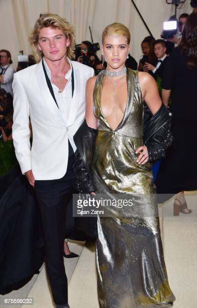 Jordan Kale Barrett and Sofia Richie arrive at 'Rei Kawakubo/Comme des Garcons Art Of The InBetween' Costume Institute Gala at The Metropolitan...