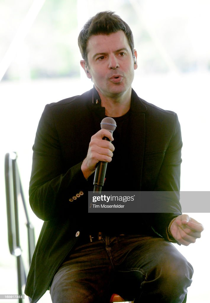 Jordan Knight of New Kids on the Block performs at Sutter Home Winery as part of Live In The Vineyard on April 6, 2013 in Napa, California.
