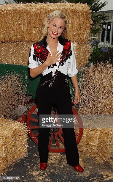 Jordan Ladd during 49th Annual Share Boomtown Party at Santa Monica Civic Auditorium in Santa Monica California United States