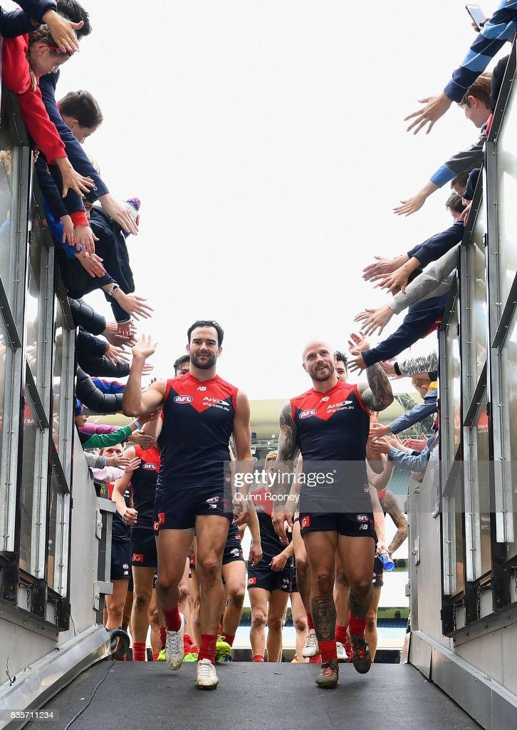 AFL Rd 22 - Melbourne v Brisbane