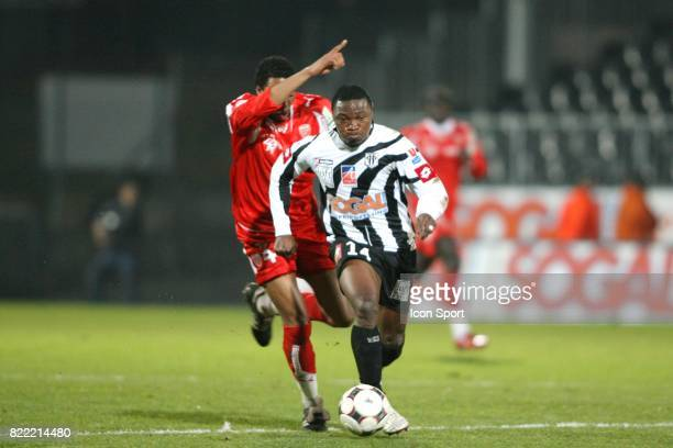 Jordan LOTIES / Paul ALO'O EFOULOU Angers / Dijon 18eme journee de Ligue 2
