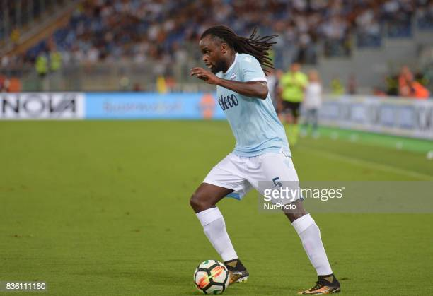 Jordan Lukaku during the Italian Serie A football match SS Lazio vs Spal at the Olympic Stadium in Rome august on 20 2017