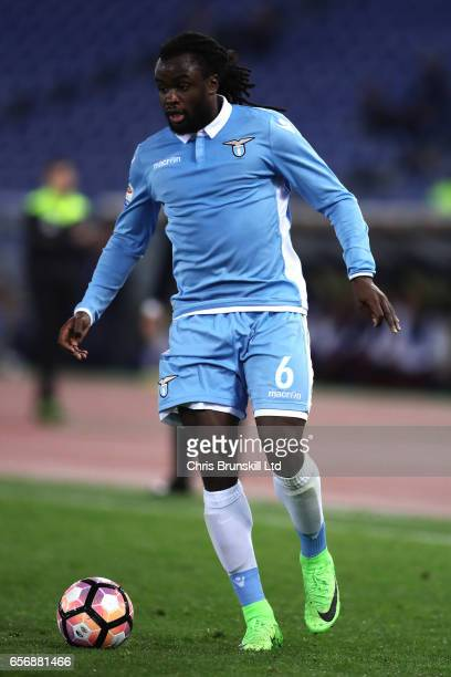 Jordan Lukaku of SS Lazio in action during the Serie A match between SS Lazio and FC Torino at Stadio Olimpico on March 13 2017 in Rome Italy