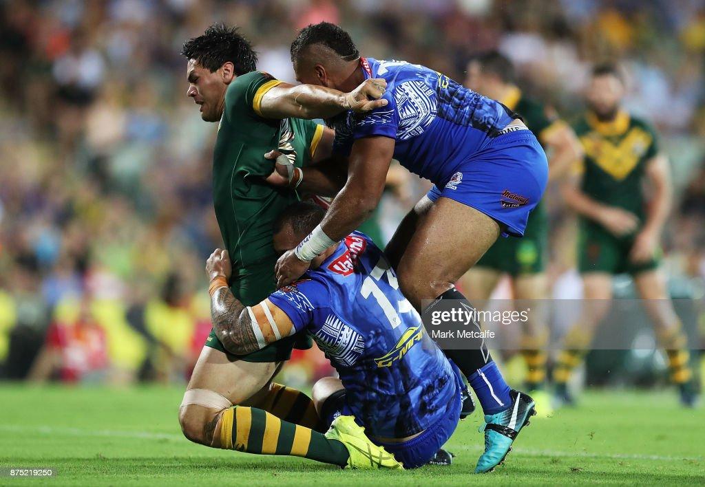 2017 Rugby League World Cup - Quarter Final: Australia v Samoa