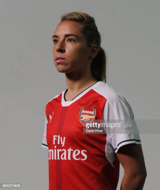 Jordan Nobbs of Arsenal Ladies during Arsenal Ladies Photocall at London Colney on February 7 2017 in St Albans England