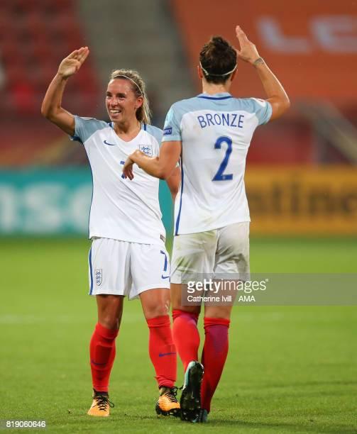 Jordan Nobbs of England Women celebrates during the UEFA Women's Euro 2017 match between England and Scotland at Stadion Galgenwaard on July 19 2017...