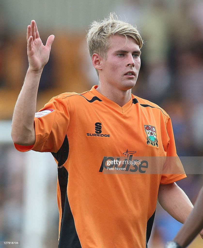 Jordan Parkes of Barnet in action during the npower League two match between Barnet and Northampton Town at Underhill Stadium on October 1, 2011 in Barnet, England.