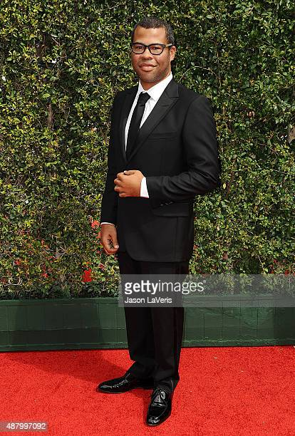 Jordan Peele attends the 2015 Creative Arts Emmy Awards at Microsoft Theater on September 12 2015 in Los Angeles California