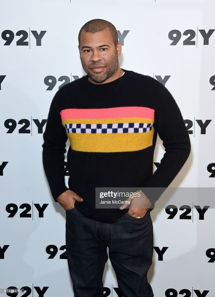 Jordan Peele attends the 92Y Presents Get Out: Jordan Peele In Conversation With Seth Meyers at 92nd Street Y on November 14, 2017 in New York City.