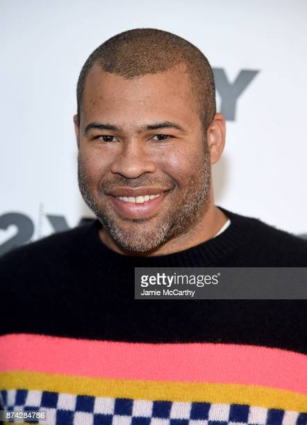 Jordan Peele attends the 92Y Presents Get Out Jordan Peele In Conversation With Seth Meyers at 92nd Street Y on November 14 2017 in New York City