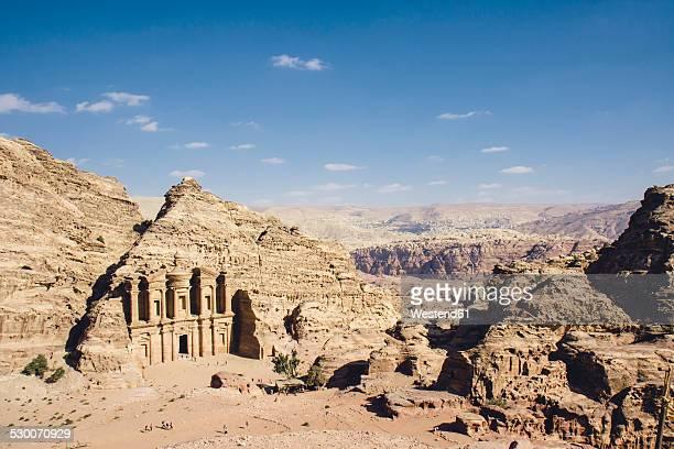 Jordan, Petra, Ad Deir Monastery