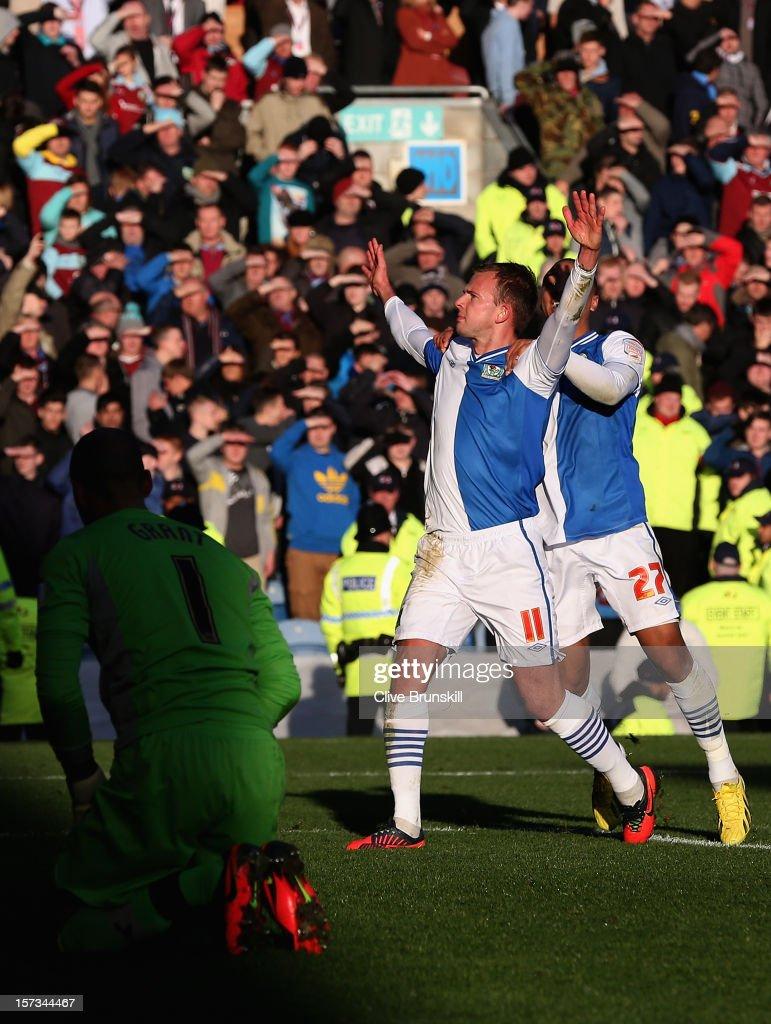Burnley v Blackburn Rovers - npower Championship