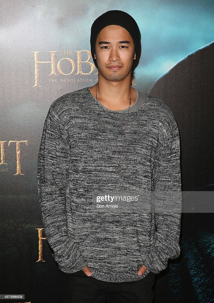 Jordan Rodrigues poses during the Sydney premiere for The Hobbit: Demolition Of Smaug at Event Cinemas George Street on December 17, 2013 in Sydney, Australia.