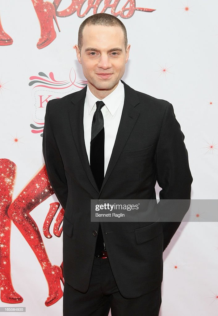 Jordan Roth attends Media Opening for Kinky Boots on Broadway at the Al Hirschfeld Theatre on April 4, 2013 in New York City.