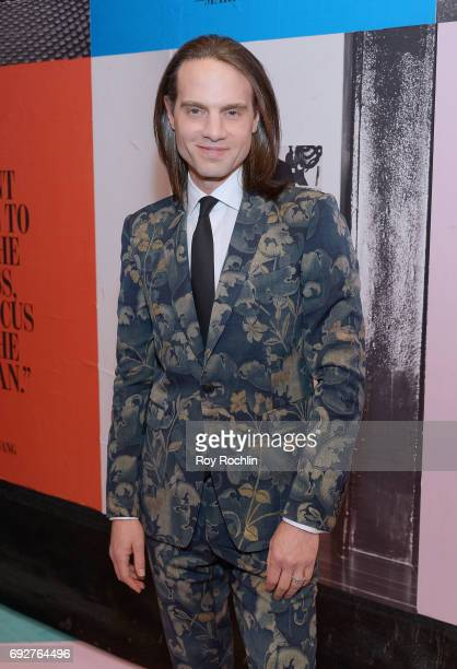 Jordan Roth attends the 2017 CFDA Fashion Awards at Hammerstein Ballroom on June 5 2017 in New York City