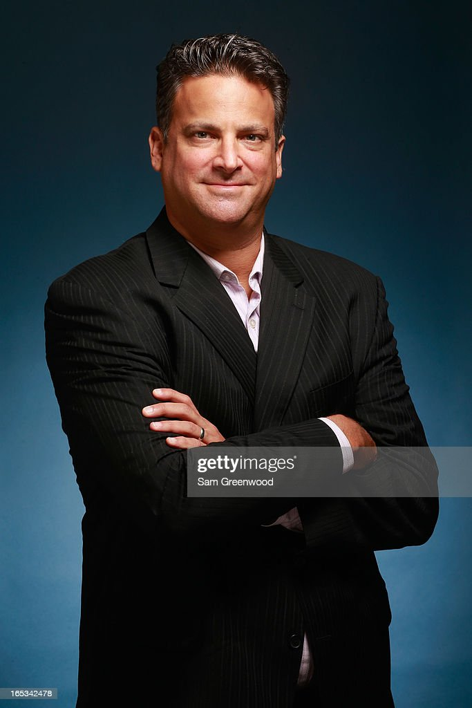 Jordan Schlachter, Executive Vice President of The Marketing Arm poses at the World Congress Of Sports Executive Portrait Studio on April 3, 2013 in Naples, Florida.