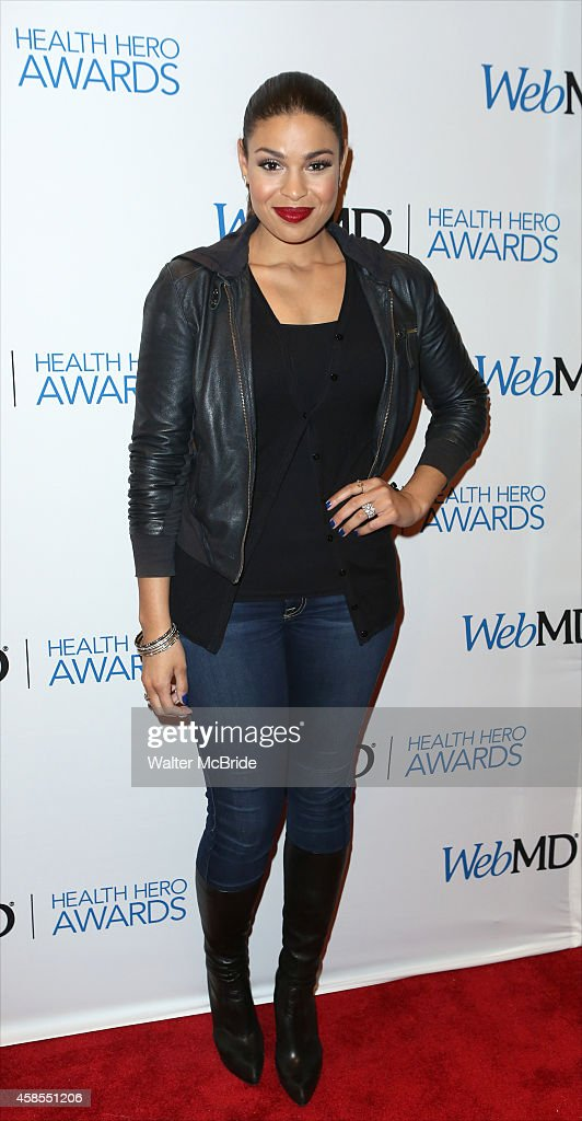 Jordan Sparks attends the WebMD 2014 Health Hero Awards at Times Center on November 6 2014 in New York City