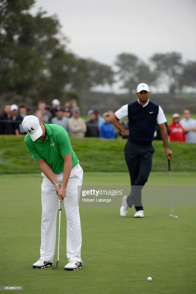Tiger Woods Farmers Insurance Open 2014