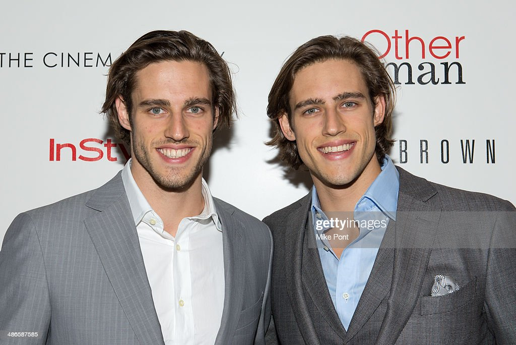 Jordan Stenmark and Zac Stenmark attend The Cinema Society & Bobbi Brown with InStyle screening of 'The Other Woman' at The Paley Center for Media on April 24, 2014 in New York City.
