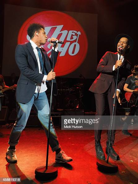 Jordan Stephens and Harley AlexanderSule of Rizzle Kicks perform on stage as part of an evening of The Who music in aid of Teenage Cancer Trust at O2...
