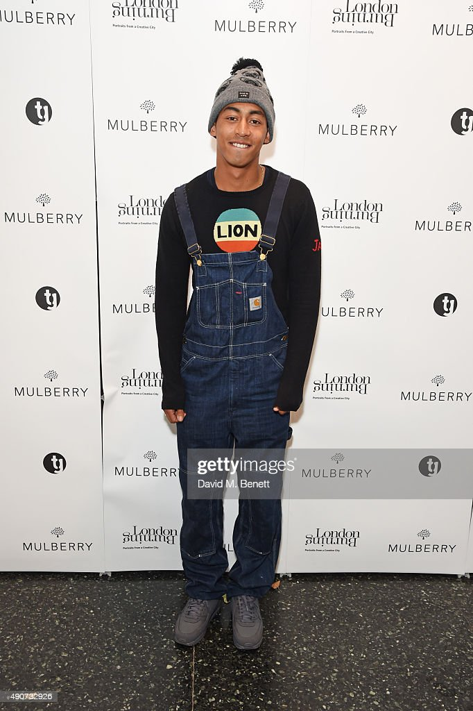 Jordan Stephens attends the London Burning Launch Event at The ICA supported by Mulberry at the ICA on September 30 2015 in London England