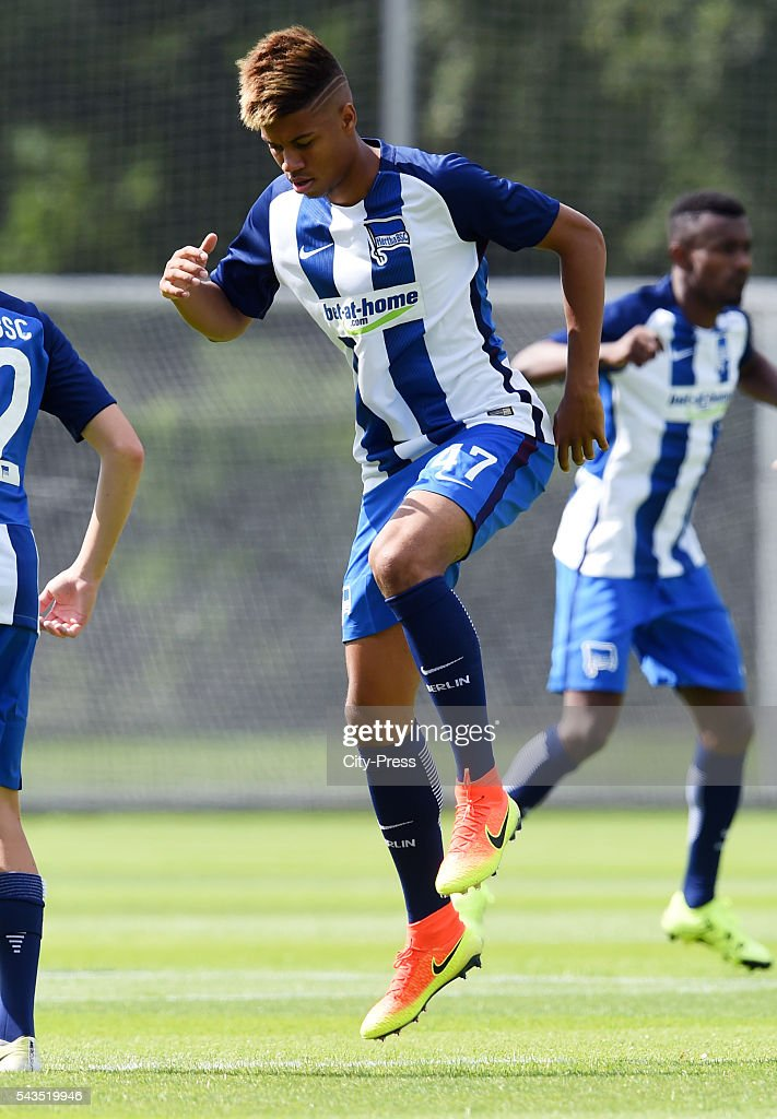 Jordan Torunarigha of Hertha BSC during the training on june 29, 2016 in Berlin, Germany.