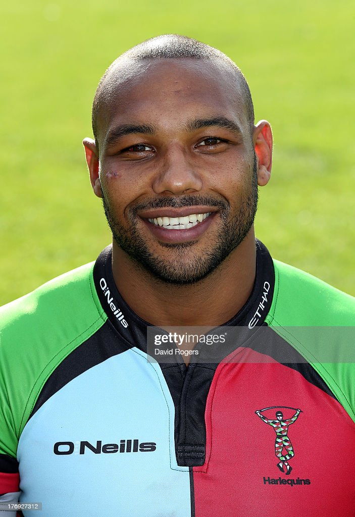 <a gi-track='captionPersonalityLinkClicked' href=/galleries/search?phrase=Jordan+Turner-Hall&family=editorial&specificpeople=2375230 ng-click='$event.stopPropagation()'>Jordan Turner-Hall</a> of Harlequins poses for a portrait at the Surrey Sports Park on August 19, 2013 in Guildford, England.