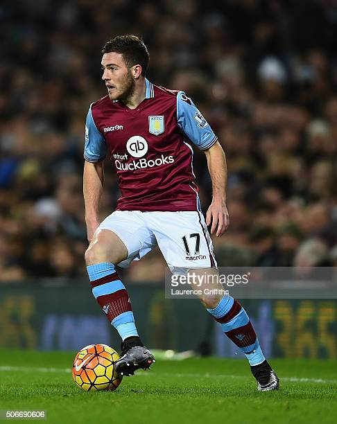 Jordan Veretout of Aston Villa in action during the Barclays Premier League match between West Bromwich Albion and Aston Villa at The Hawthorns on...