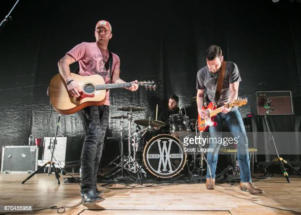 Jordan Walker and Johnny McGuire of Walker Maguire perform at The Royal Oak Music Theater on April 19 2017 in Royal Oak Michigan
