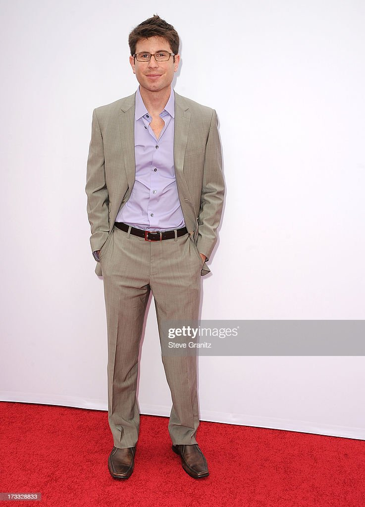 Jordan Wall arrives at the 'RED 2' - Los Angeles Premiere at Westwood Village on July 11, 2013 in Los Angeles, California.