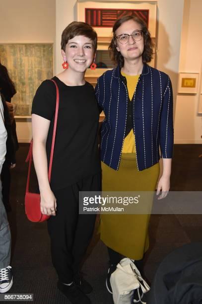 Jordan Westfall and Lauren Rosenbaum attend the IFPDA Fine Art Print Fair Opening Preview at The Jacob K Javits Convention Center on October 25 2017...
