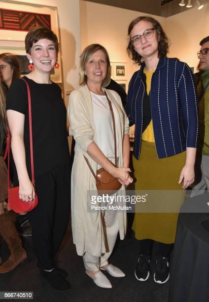 Jordan Westfall Jill Czarnowski and Lauren Rosenbaum attend the IFPDA Fine Art Print Fair Opening Preview at The Jacob K Javits Convention Center on...