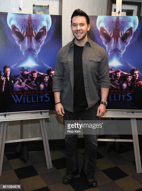 Jordan Yale Levine attends the premiere of 'Welcome To Willits' at IFC Center on September 21 2017 in New York City