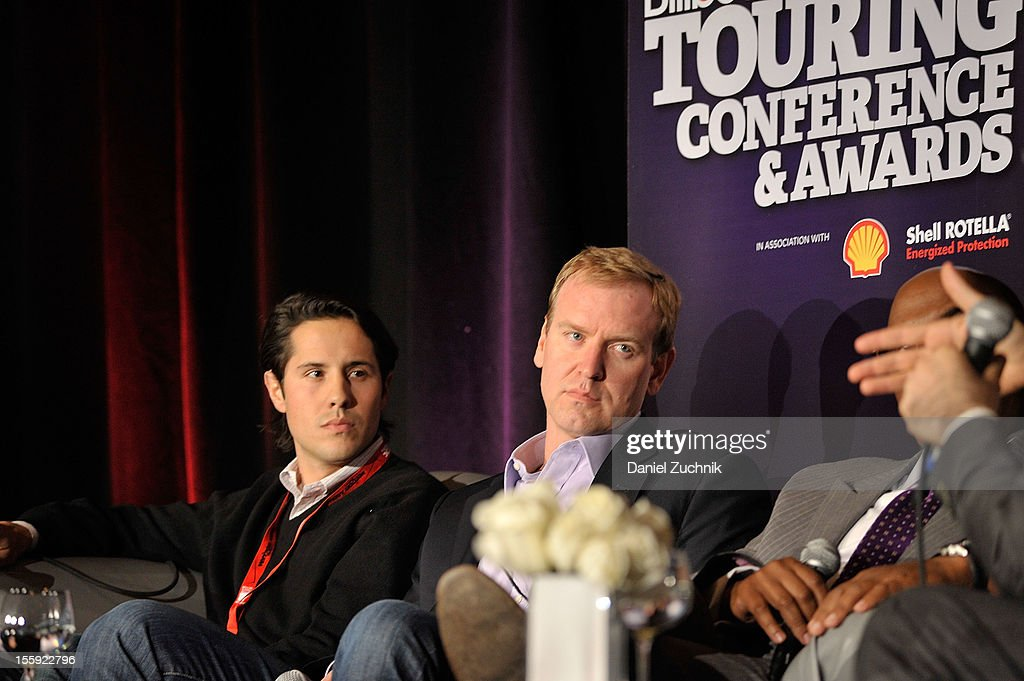 Jordan Zachary, and Charlie Walker attend the 2012 Billboard Touring Conference & Awards Keynote Address at Roosevelt Hotel on November 8, 2012 in New York City.