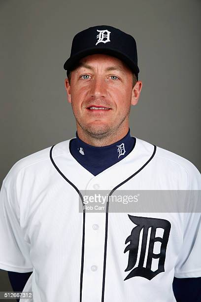 Jordan Zimmermann of the Detroit Tigers poses during photo day at Joker Marchant Stadium on February 27 2016 in Lakeland Florida