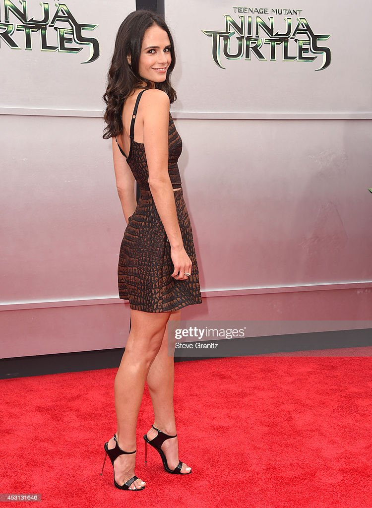 <a gi-track='captionPersonalityLinkClicked' href=/galleries/search?phrase=Jordana+Brewster&family=editorial&specificpeople=207174 ng-click='$event.stopPropagation()'>Jordana Brewster</a> arrives at the 'Teenage Mutant Ninja Turtles' at Regency Village Theatre on August 3, 2014 in Westwood, California.