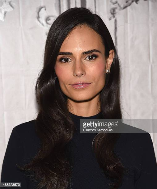 Jordana Brewster attends AOL BUILD Speaker Series Jordana Brewster Discusses Her Film 'Furious 7' at AOL Studios In New York on April 3 2015 in New...