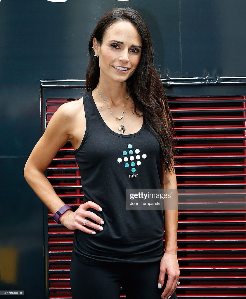 At the fitbit ipo celebration at new york stock exchange on thursday - Jordana Brewster Attends Fitbit Ipo Celebration With Harley Pasternak And Jordana Brewster At New York Stock