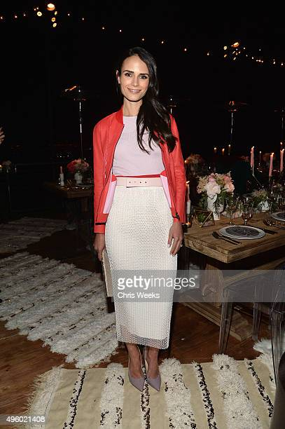 Jordana Brewster attends Jessica Alba Humberto Leon and InStyle celebrate Honest Beauty and the launch of the #letsbehonest campaign on November 5...