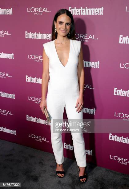 Jordana Brewster attends the 2017 Entertainment Weekly PreEmmy Party at Sunset Tower on September 15 2017 in West Hollywood California