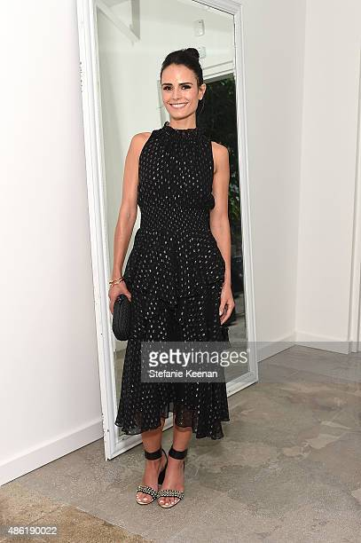 Jordana Brewster attends The A List 15th Anniversary Party on September 1 2015 in Beverly Hills California
