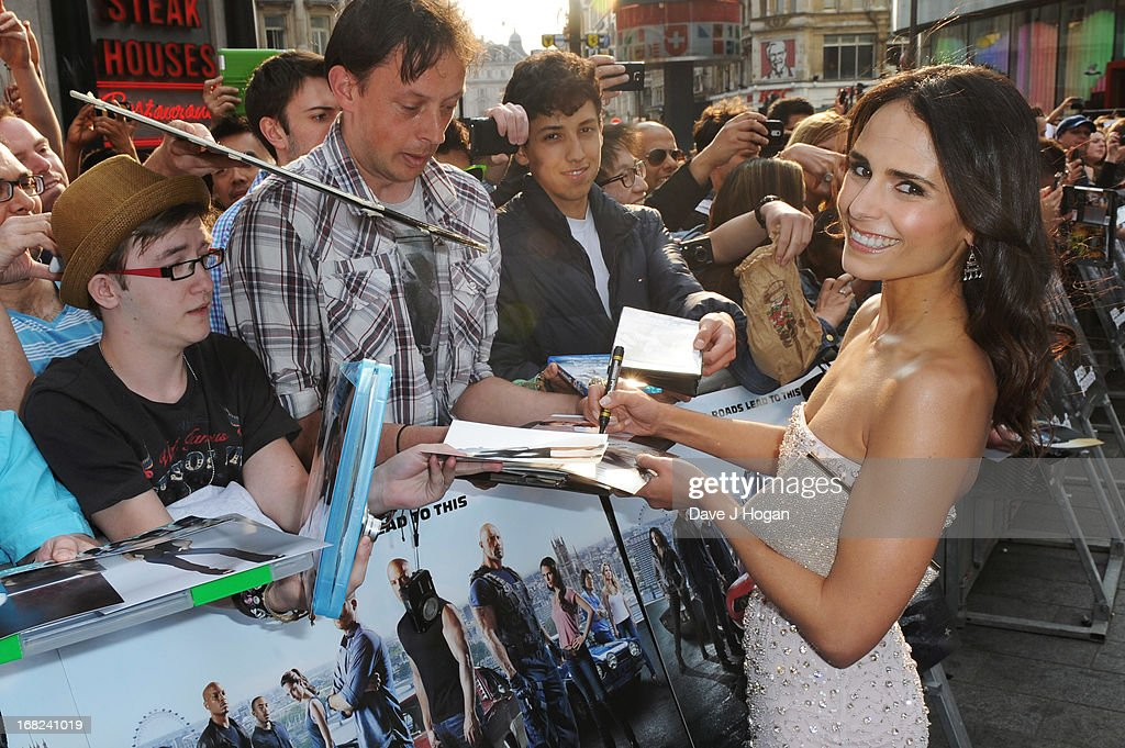 <a gi-track='captionPersonalityLinkClicked' href=/galleries/search?phrase=Jordana+Brewster&family=editorial&specificpeople=207174 ng-click='$event.stopPropagation()'>Jordana Brewster</a> attends the world premiere of 'Fast And Furious 6' at The Empire Leicester Square on May 7, 2013 in London, England.