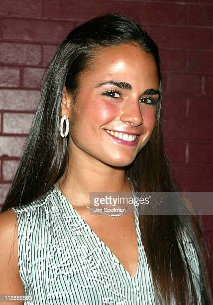 Jordana Brewster during Entertainment Weekly's 1st Annual 'IT List' Party at Milk Studios in New York City New York United States