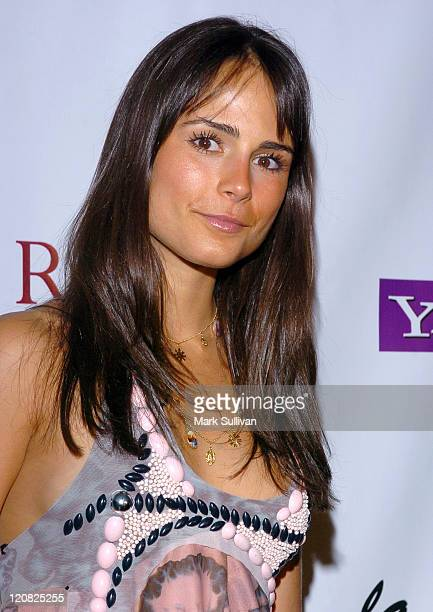 Jordana Brewster during Eric Podwall and Shane West Birthday Party June 18 2005 in Los Angeles California United States