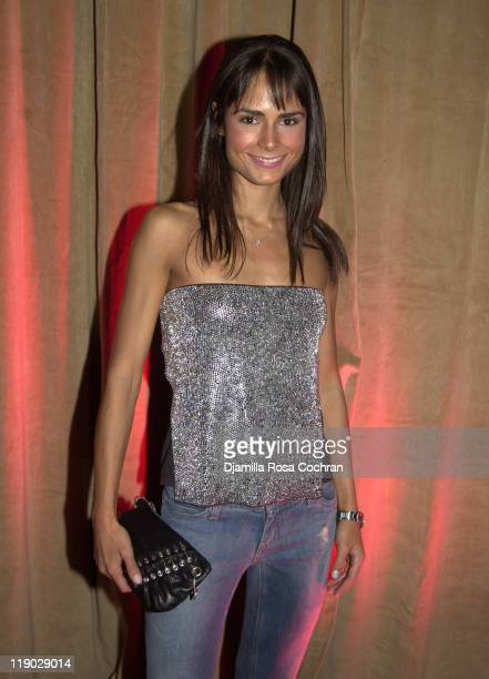Jordana Brewster during Sean 'P Diddy' Combs Runs the City PreMarathon Dinner at Metropolitan Pavilion in New York City New York United States